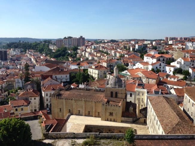 Sé Velha - vista da Universidade de Coimbra