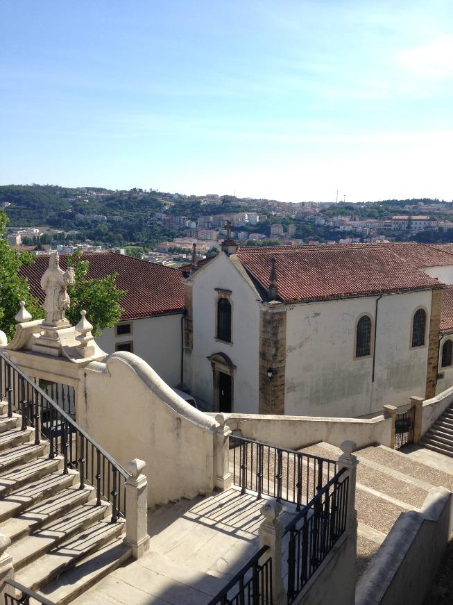 Vista da Universidade de Coimbra
