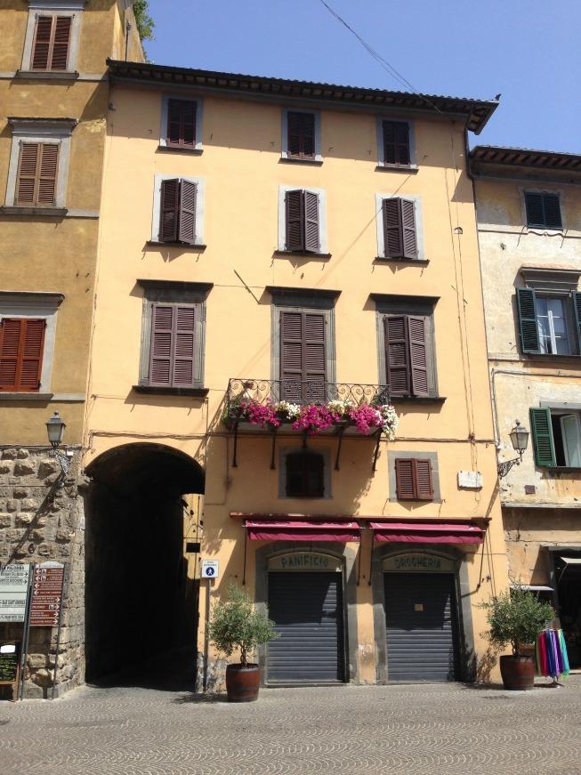 Lindas casas em Orvieto