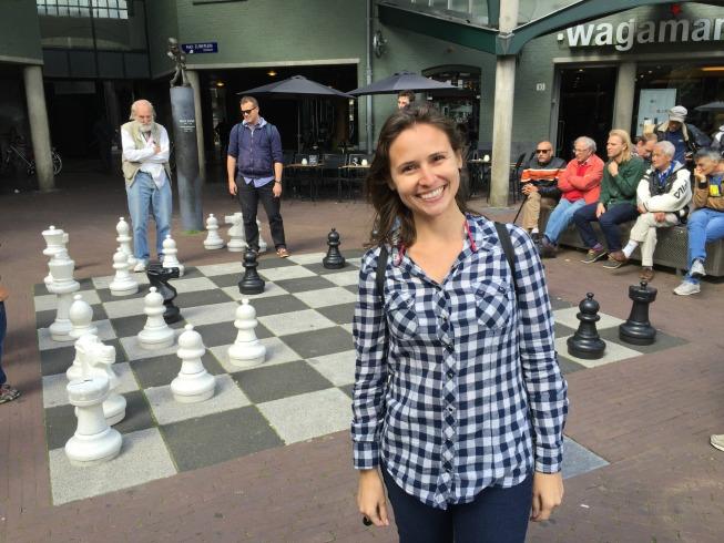 A praça do xadrez