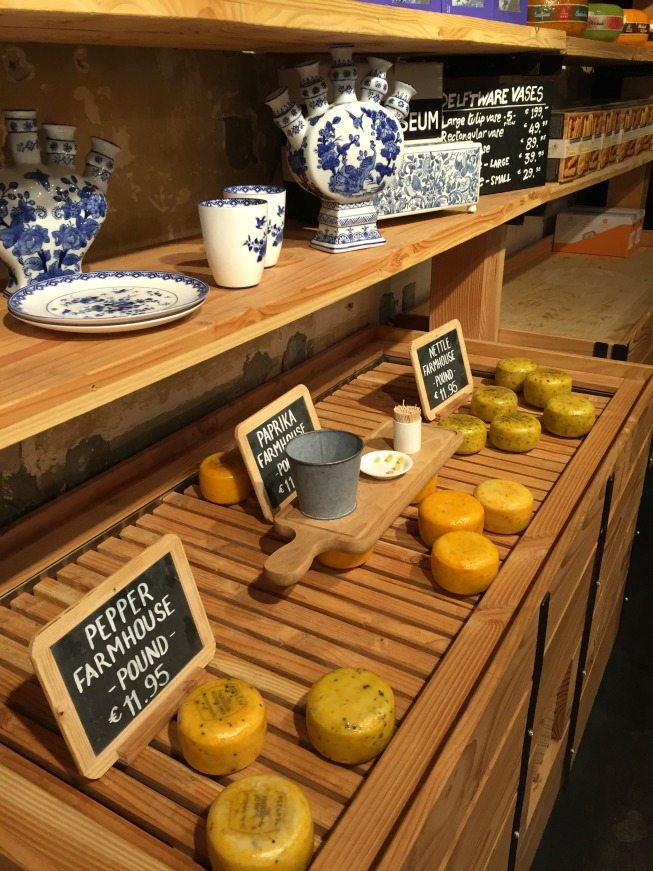 Loja de queijo em Amsterdam