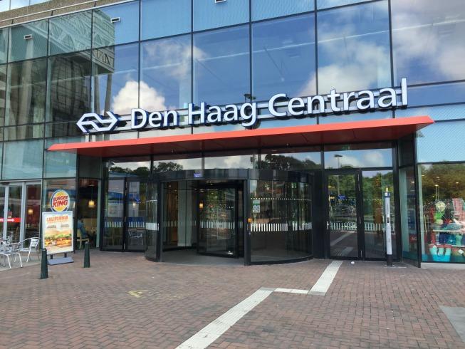 Estação central de Haia