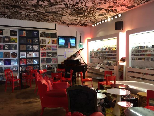Ambiente dedicado à música