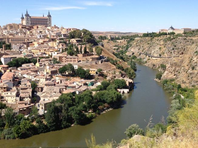 Toledo vista do mirante