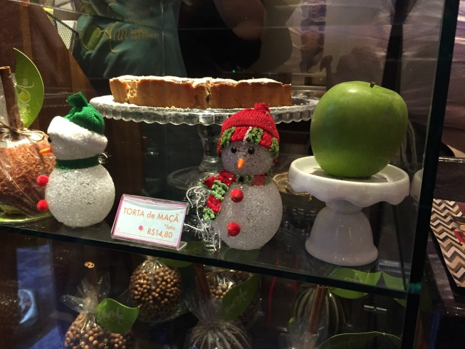A torta de maçã