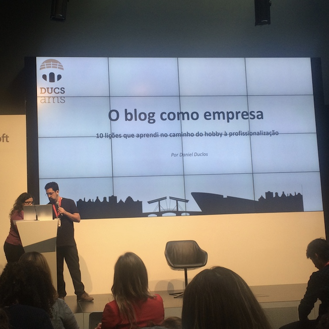 o blog como empresa - IIIEEBB 2016