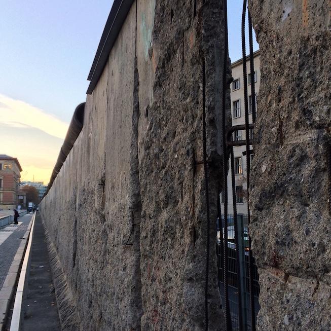 Muro de Berlim na Topografia do terror - IIIEEBB 2016